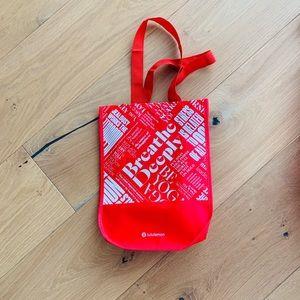 Small lululemon reusable shopping bag
